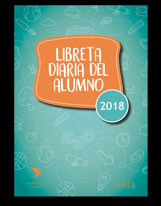Libreta diario del alumno primario 2018