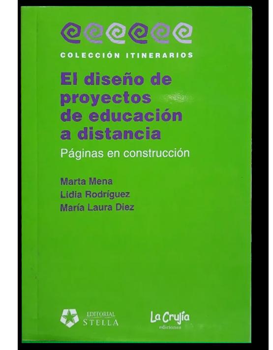 El diseño de proyectos de educación a distancia